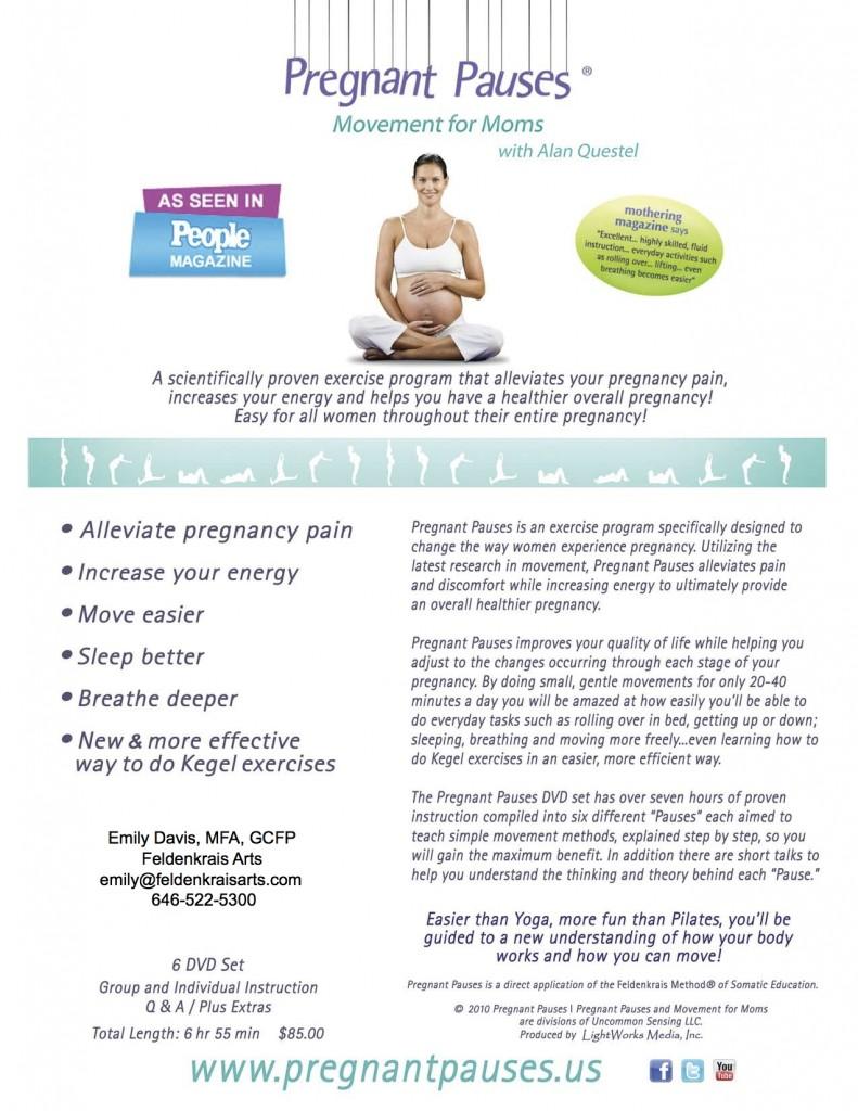 Pregnant Pauses Feldenkrais Arts